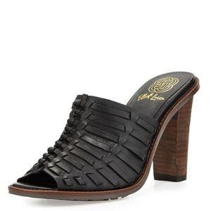 Elliott Lucca Shoes - Elliot Lucca Vienna Woven Mule Sandals